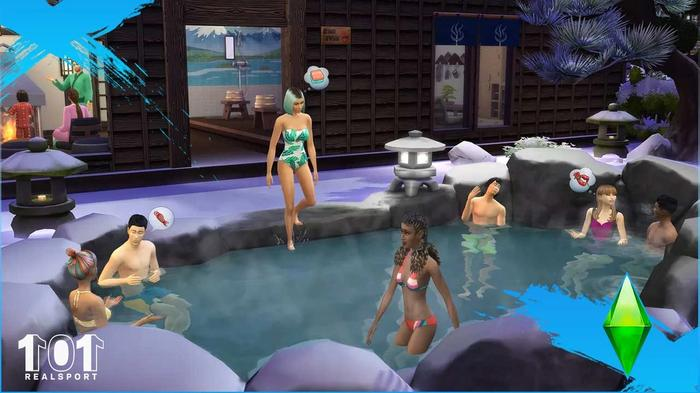 the sims 4 snowy escape woohoo spots