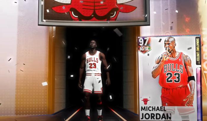 NBA 2K21 MyTEAM Limited Retro Volume 2 Packs Galaxy Opal Michael Jordan