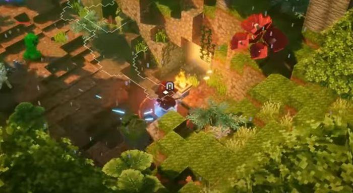 Minecraft Dungeons Jungle Awakens panda plateau 5 1