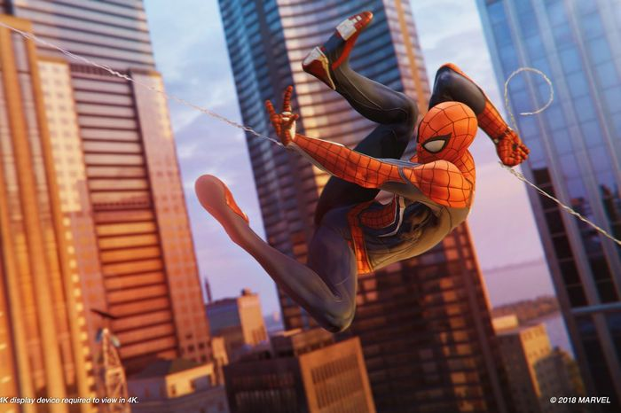 PS Plus September 2021 Spider-Man