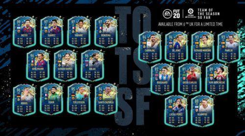 la liga TOTSSF FIFA 20