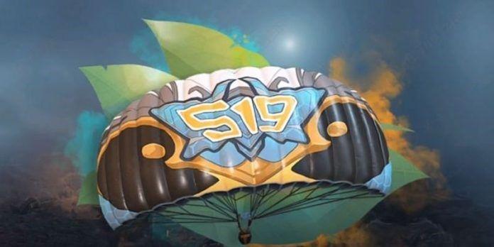 PUBG Mobile Season 19 Crown Parachute
