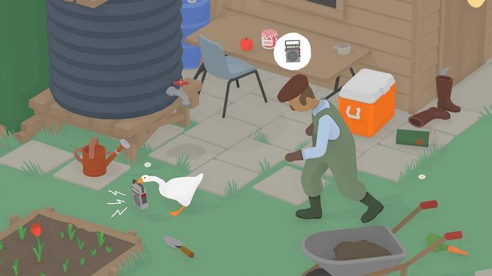 Untitled Goose Game Key Art