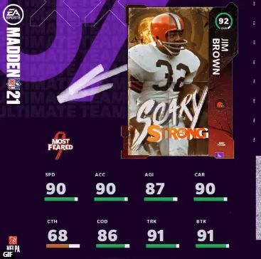 jim brown scary strong most feared
