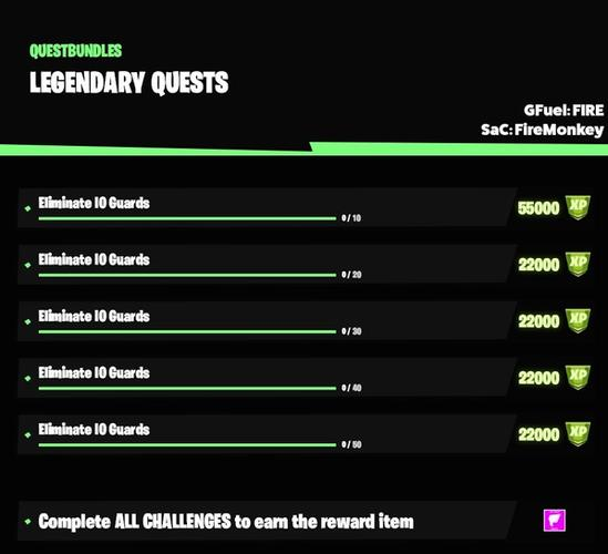 fortnite season 5 week 5 legendary quests leak