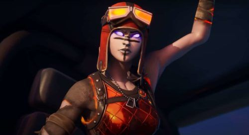 Fortnite Leaked Renegade Raider Skin