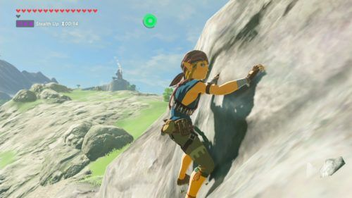OPEN WORLD: BOTW saw Nintendo have a go at making an open world game.