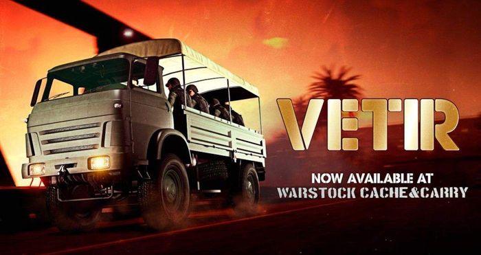 GTA Online Vetir Promo Art