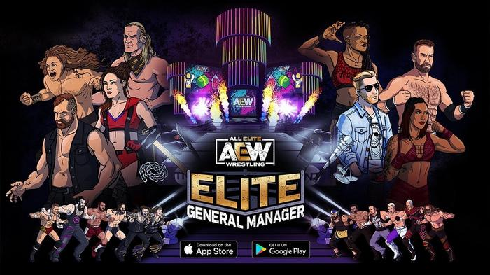 AEW Elite GM General Manager Console Game Roster