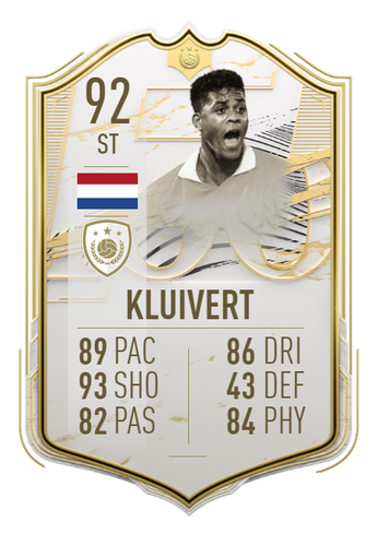 patrick kluivert fifa 21 ultimate team icon moments