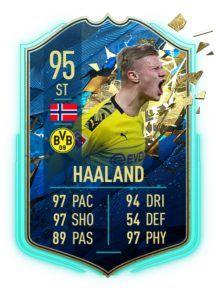 Haaland TOTS FIFA 20