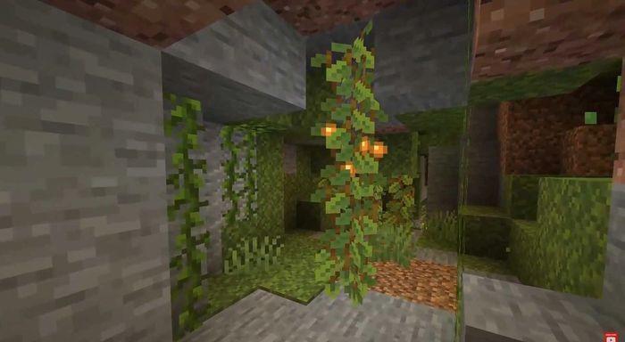 minecraft lush caves 1