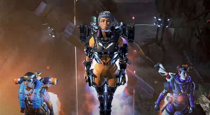 Apex Legends New Character Valkyrie Jump Boost