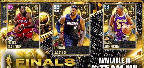 NBA 2K21 MyTEAM NBA Playoff Finals Pack