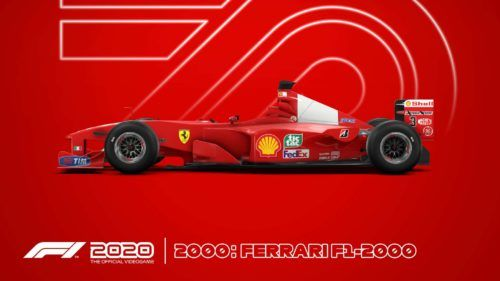 F12020 Ferarri schumacher