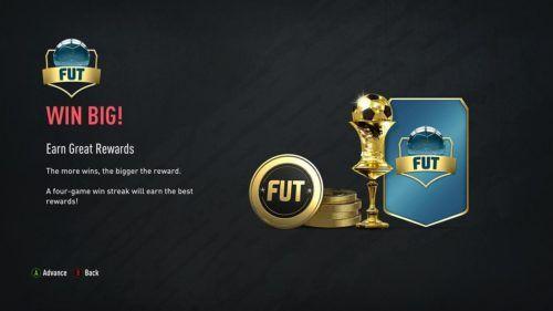 FUT rewards
