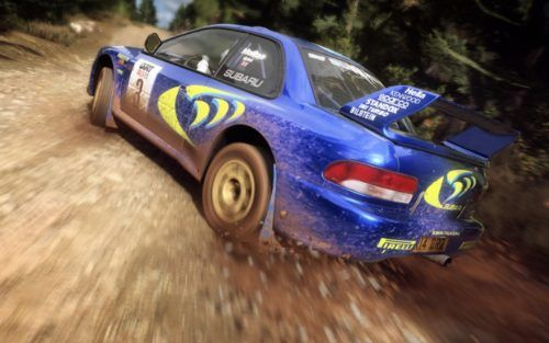 DIRT RALLY PS PLUS