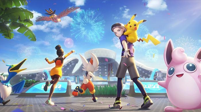 Pokemon Unite Art Stadium Characters