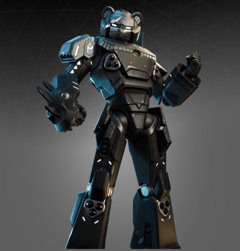 fortnite outfit mecha team shadow unreleased skins