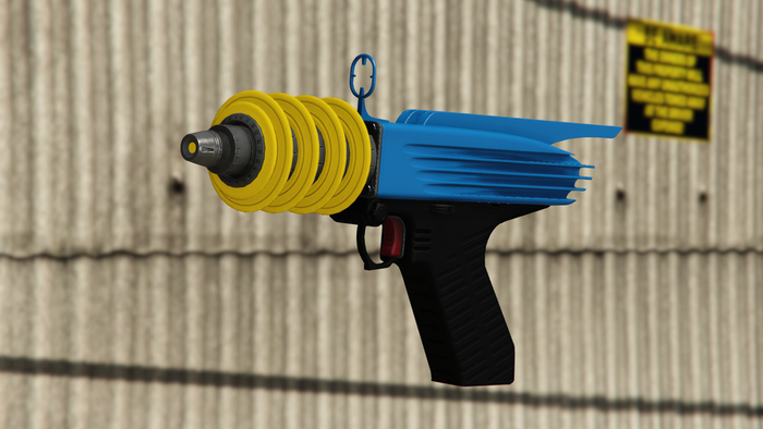 GTA Online Best Weapons Up-n-atomizer