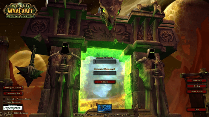 BlizzCon 2021 Leaks WoW Classic TBC Release Date Beta Content Patches Raid