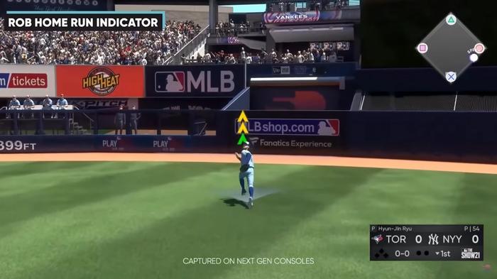 MLB The Show 21 Fielding Controls Guide Rob Home Run