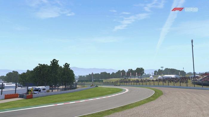 F1 2020 Spain turn 9 Y