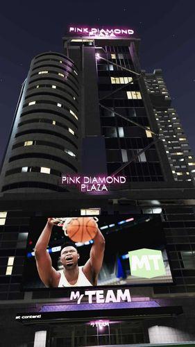 nba 2k21 the city pink diamond plaza min