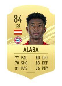 David Alaba FIFA 21