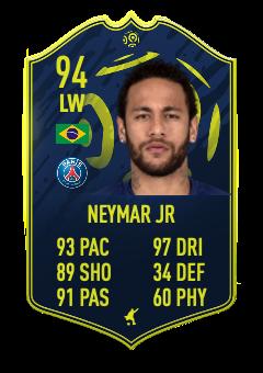 neymar jr POTM