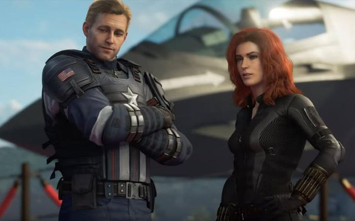 Marvel's Avengers XP Rework Captain America Black Widow