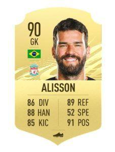 Allison FIFA 21