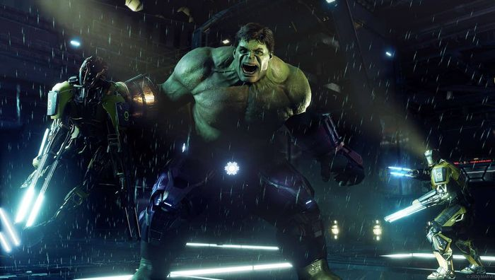 Avengers good Hulk Stark Tech