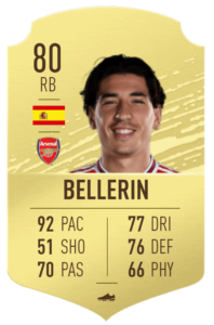 Bellerin-fut-base-card