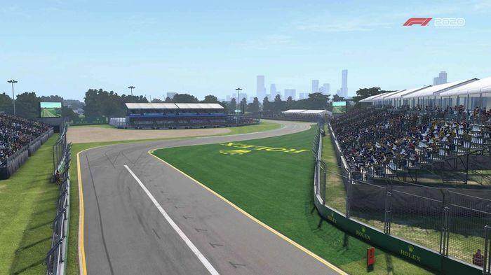 F1 2020 Australia Turn 1 Y