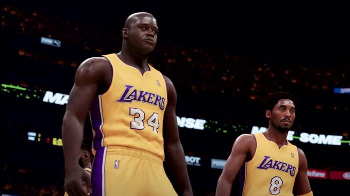 NBA 2K21 Splash Zone Shaq