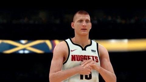 NBA 2K22 Cover Athlete Star Nikola Jokic