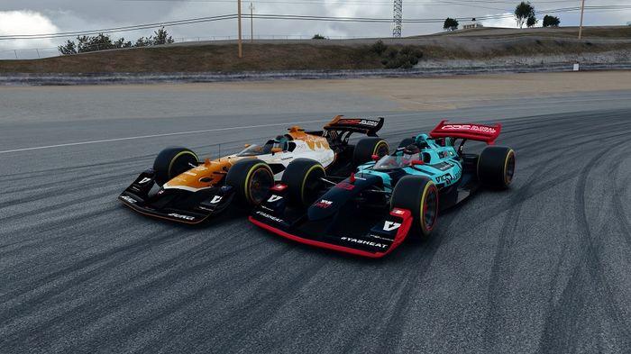 Porsche Yas Heat V10 R-League Round 5 Laguna Seca