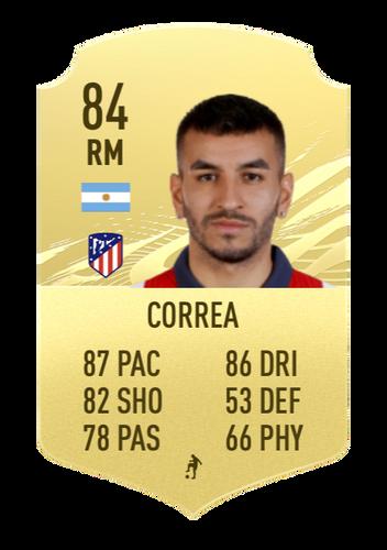 correa FIFA 22