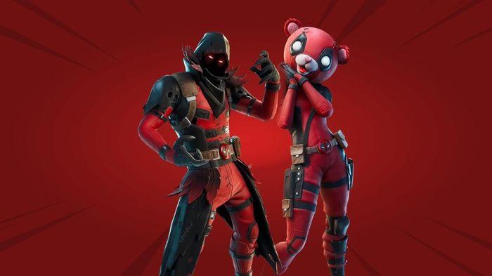 Fortnite Deadpool Mashups Team Leader Raven