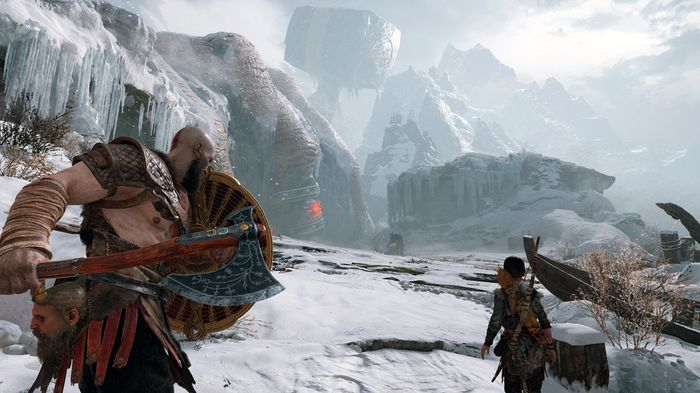 NOT ALONE: Other PS exclusives are also receiving huge updates, such as God of War