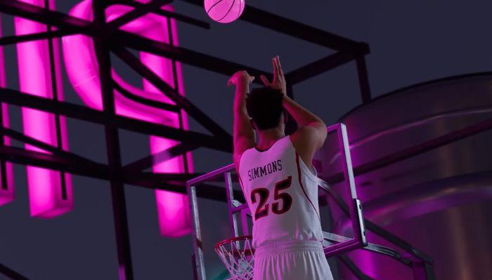 Ben Simmons in NBA 2K22