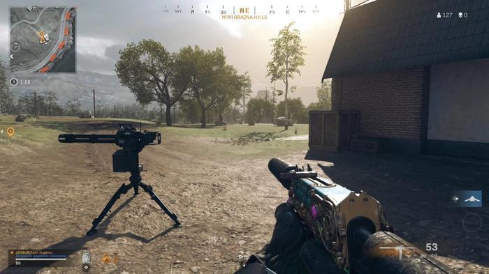 Sentry Gun, Warzone