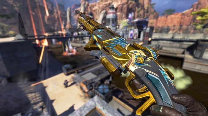 Apex Legends War Games Event Rewards Track 30-30 Repeater Weapon Skin