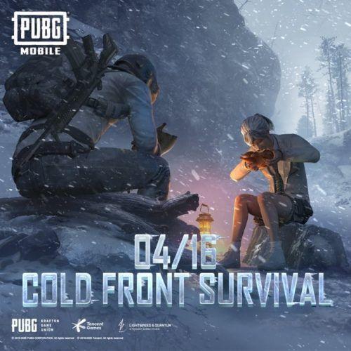 pubg mobile cold front survival teaser tencent games