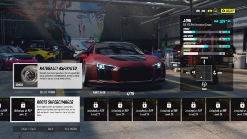 Customizing your ride in Need For Speed Heat