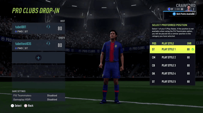 fifa 22 pro clubs drop-in