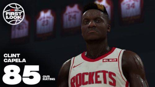 NBA 2K21 Clint Capela
