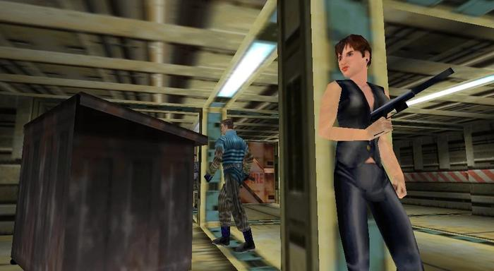 SPIRITUAL SUCCESSOR: After losing the rights to James Bond, the game eventually became Perfect Dark.