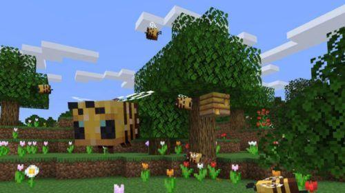 minecraft beehive 1